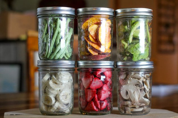 Put Food In Air-Tight Containers | Food Preservation | How To Freeze Dry Your Food In Your Home