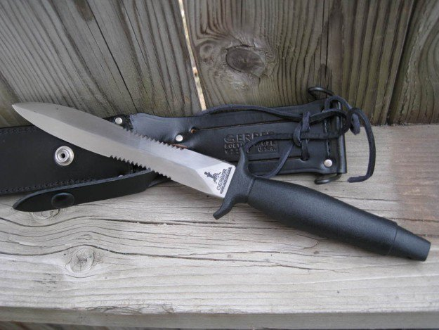 Gerber Mark II | A Knife To A Gun Fight? Win With The Best Tactical Knives