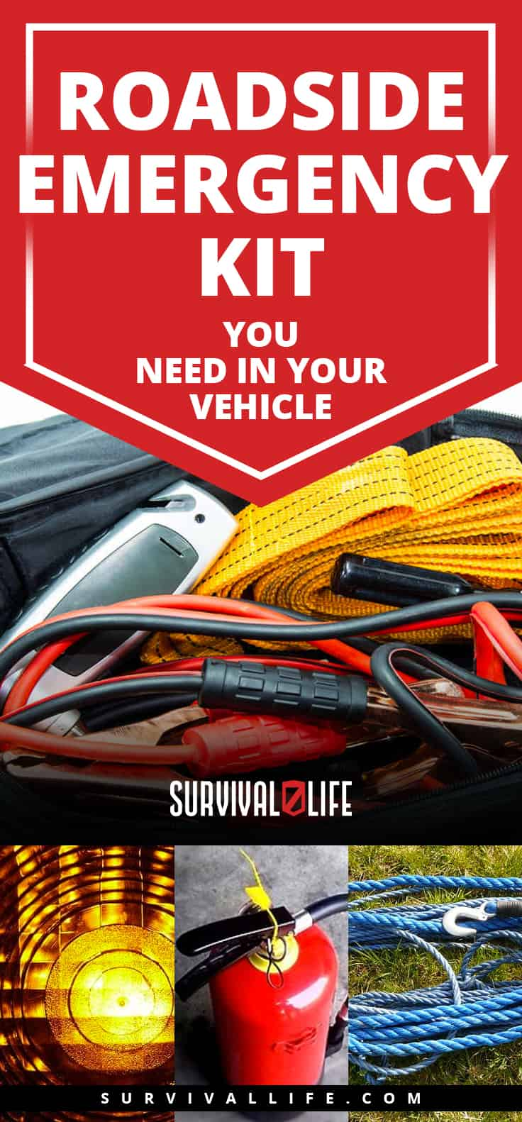 Roadside Emergency Kit You Need In Your Vehicle
