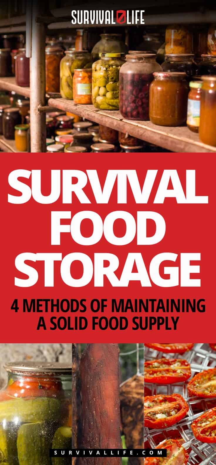 Survival Food Storage | 4 Methods Of Maintaining A Solid Food Supply