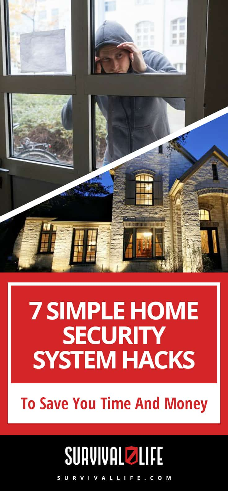 Check out 7 Simple Home Security System Hacks To Save You Time And Money at https://survivallife.com/home-security-system/