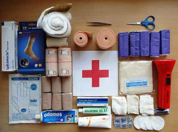 First Aid Kit | Emergency Survival Kit From Everyday Household Items