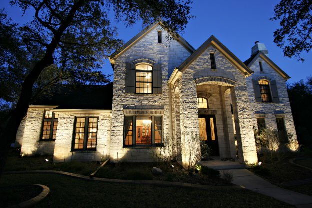 outdoor night home lighting 7 Simple Home Security System Hacks To Save You Time And Money
