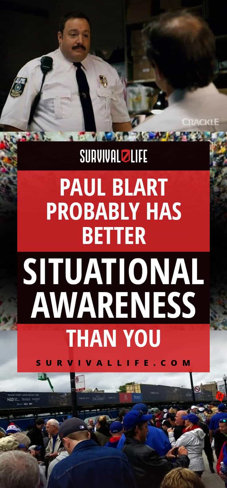 Paul Blart Probably Has Better Situational Awareness Than You