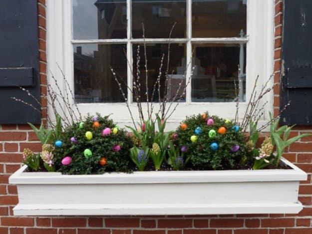 Window Box | 50 Easter Egg Hiding Spots