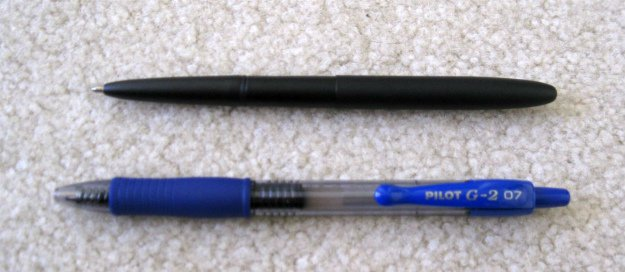 Observations   Fisher Bullet Space Pen Review