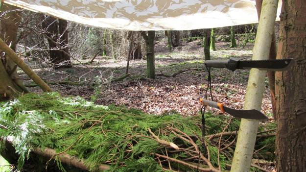 Bedding | Create A Shelter Out of A Juniper Tree for Survival