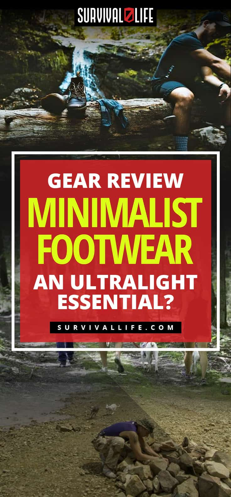 Minimalist Footwear...An Ultralight Essential? [Gear Review] | https://survivallife.com/minimalist-footwear-survival-kit/