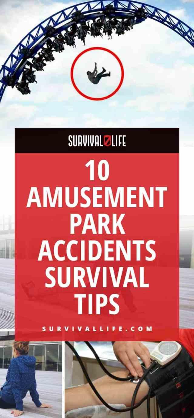 Placard | Amusement Park Accidents Survival Tips