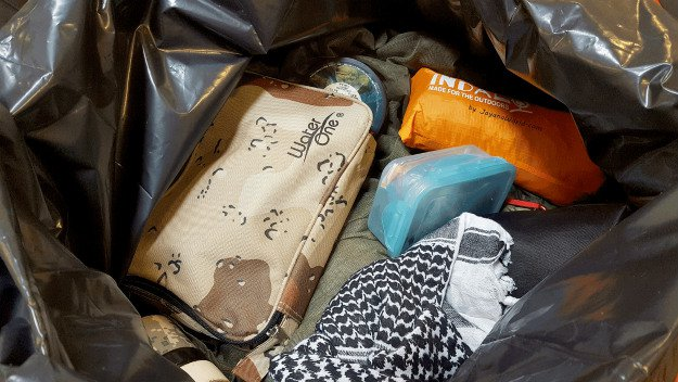 Backup Carrying Equipment | Survival Uses For A Contractor's Trash Bag
