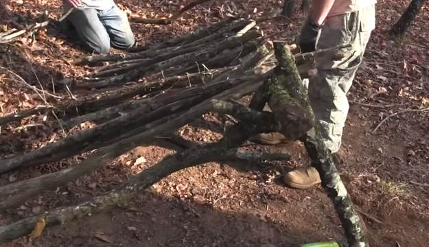 Ribbing | Survival Shelters | Create Survival Shelters From Debris