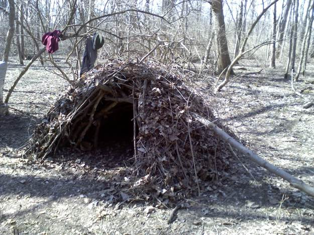 Anchor and Weight | Survival Shelters | Create Survival Shelters From Debris