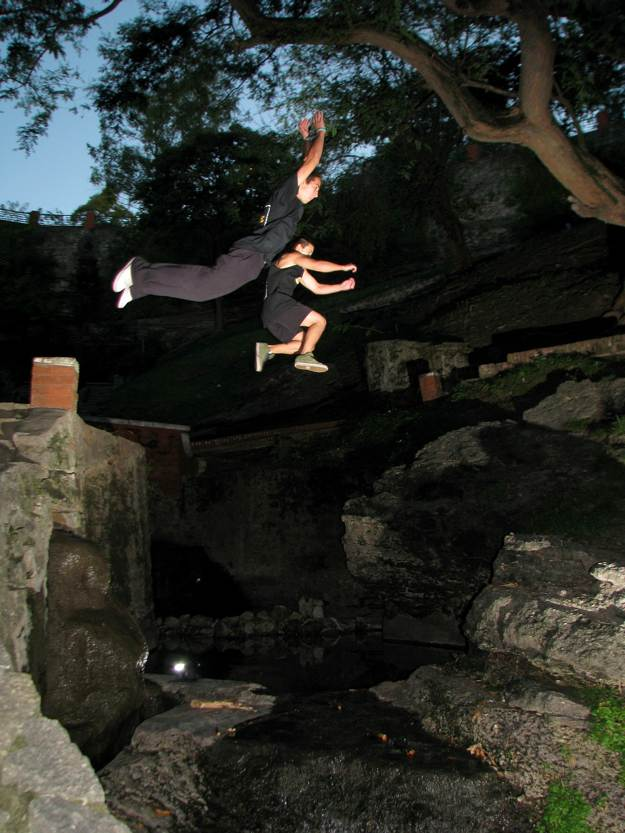 Adrenaline Rush | How Parkour Training Can Save Your Life