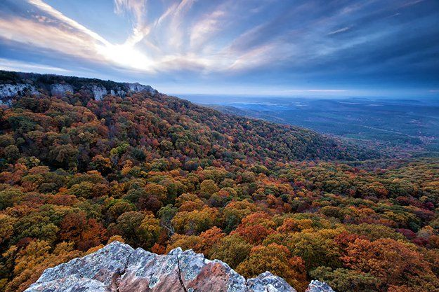 """Camping in Arkansas 