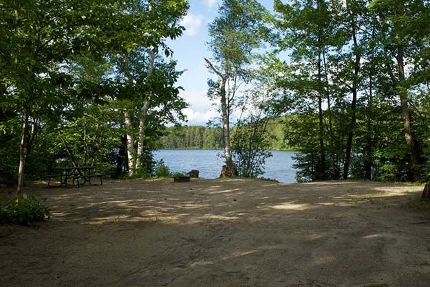 """Camping in Vermont 