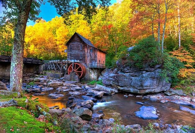 """Camping in West Virginia 
