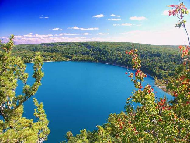 """Camping in Wisconsin 