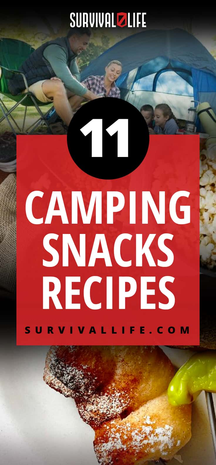 Camping Snacks | Appetizing Recipes Perfect Outdoors | https://survivallife.com/crazy-simple-super-delicious-camping-snacks-camping-food-recipes/
