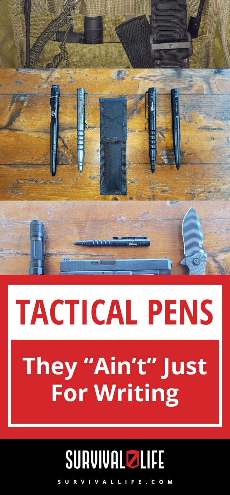 "Tactical Pens: They ""Ain't"" Just For Writing 