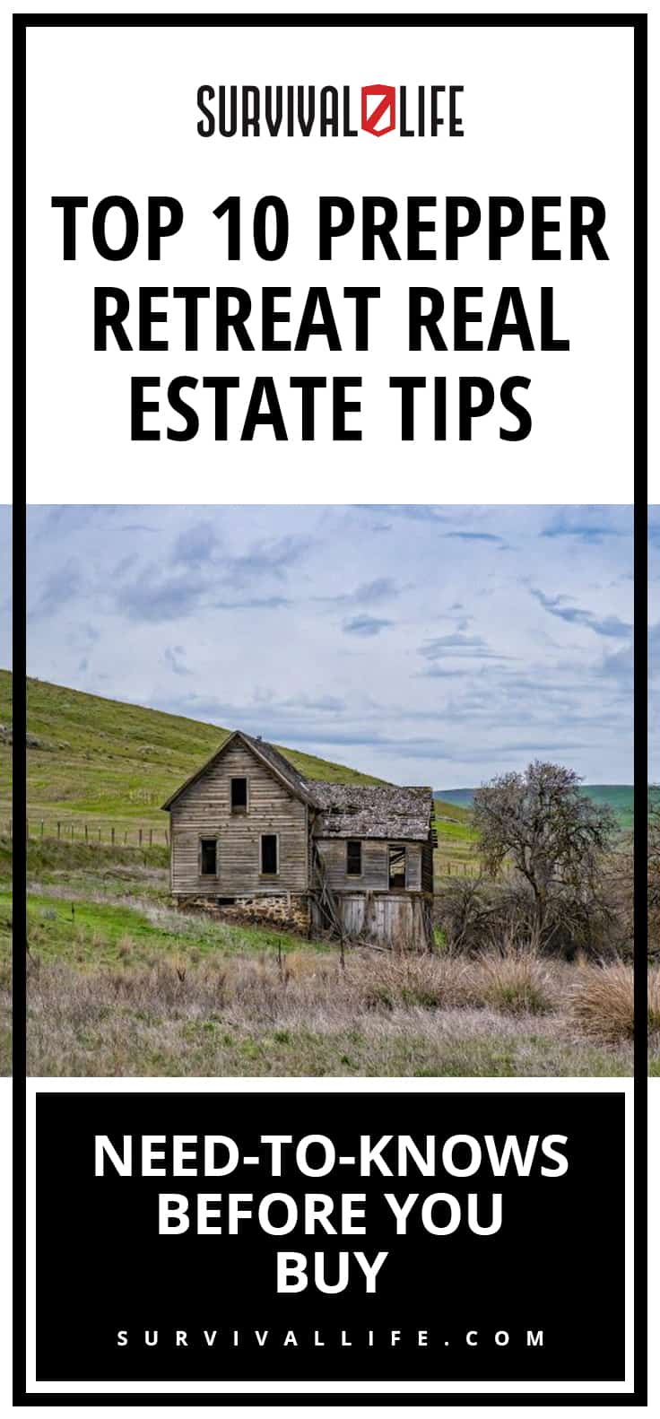 Top 10 Prepper Retreat Real Estate Tips | Need-To-Knows Before You Buy