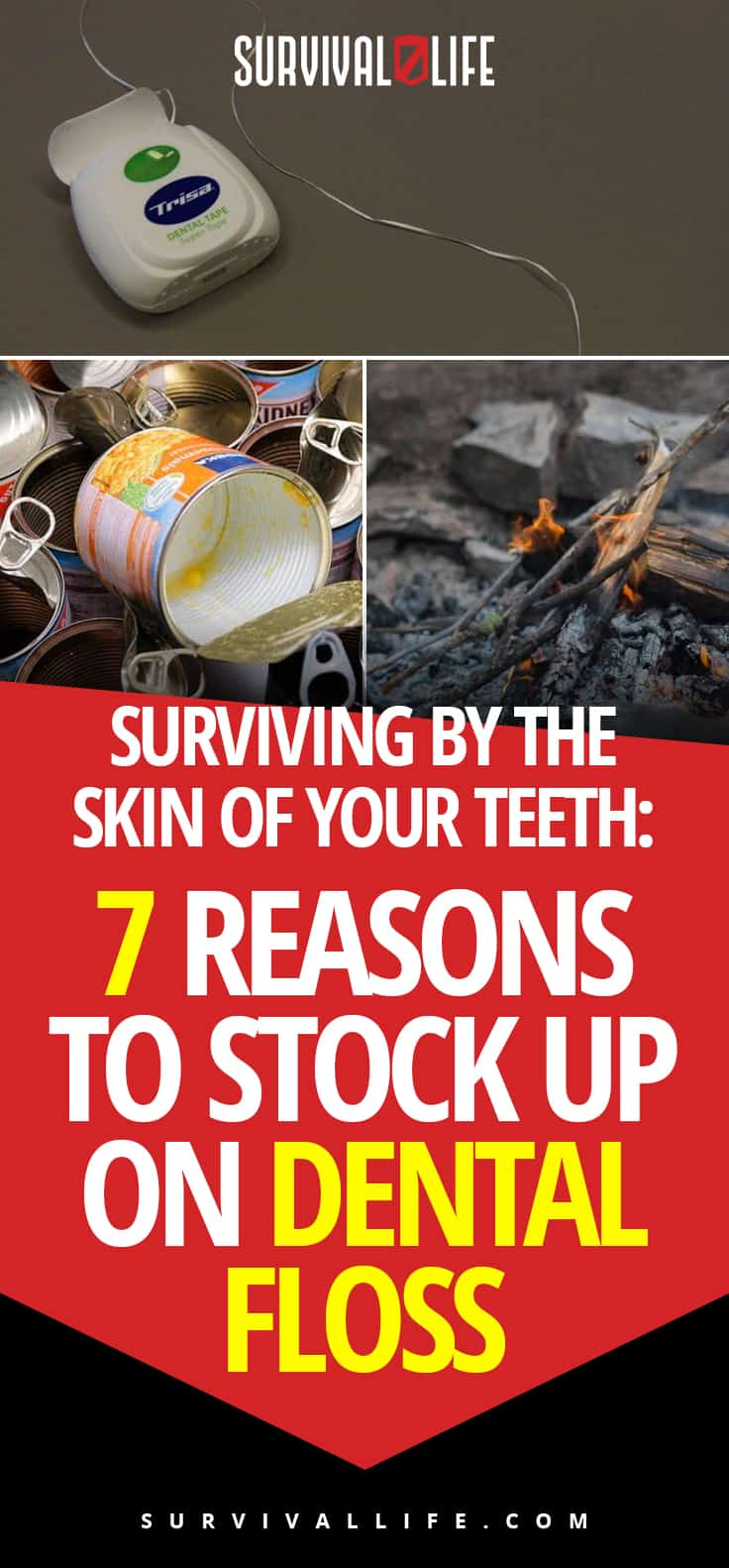 Dental Floss | Surviving By The Skin Of Your Teeth: 7 Reasons To Stock Up On Dental Floss