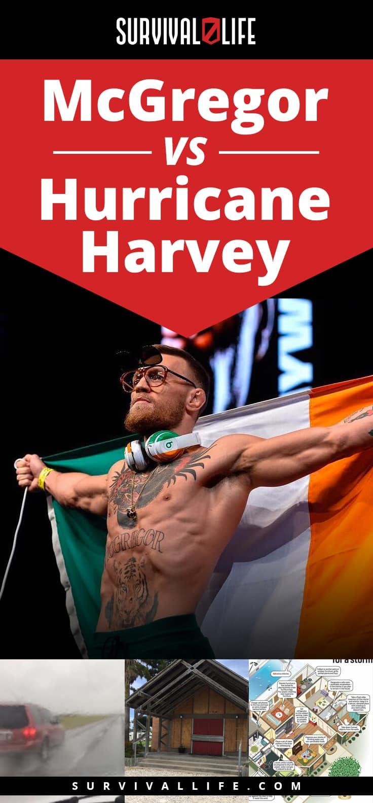 McGregor vs Hurricane Harvey