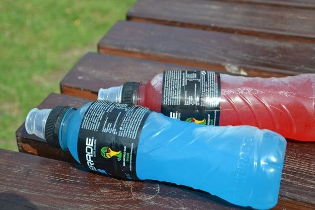 Sports Drink When Working Out | How To Stay Hydrated In Hot Conditions