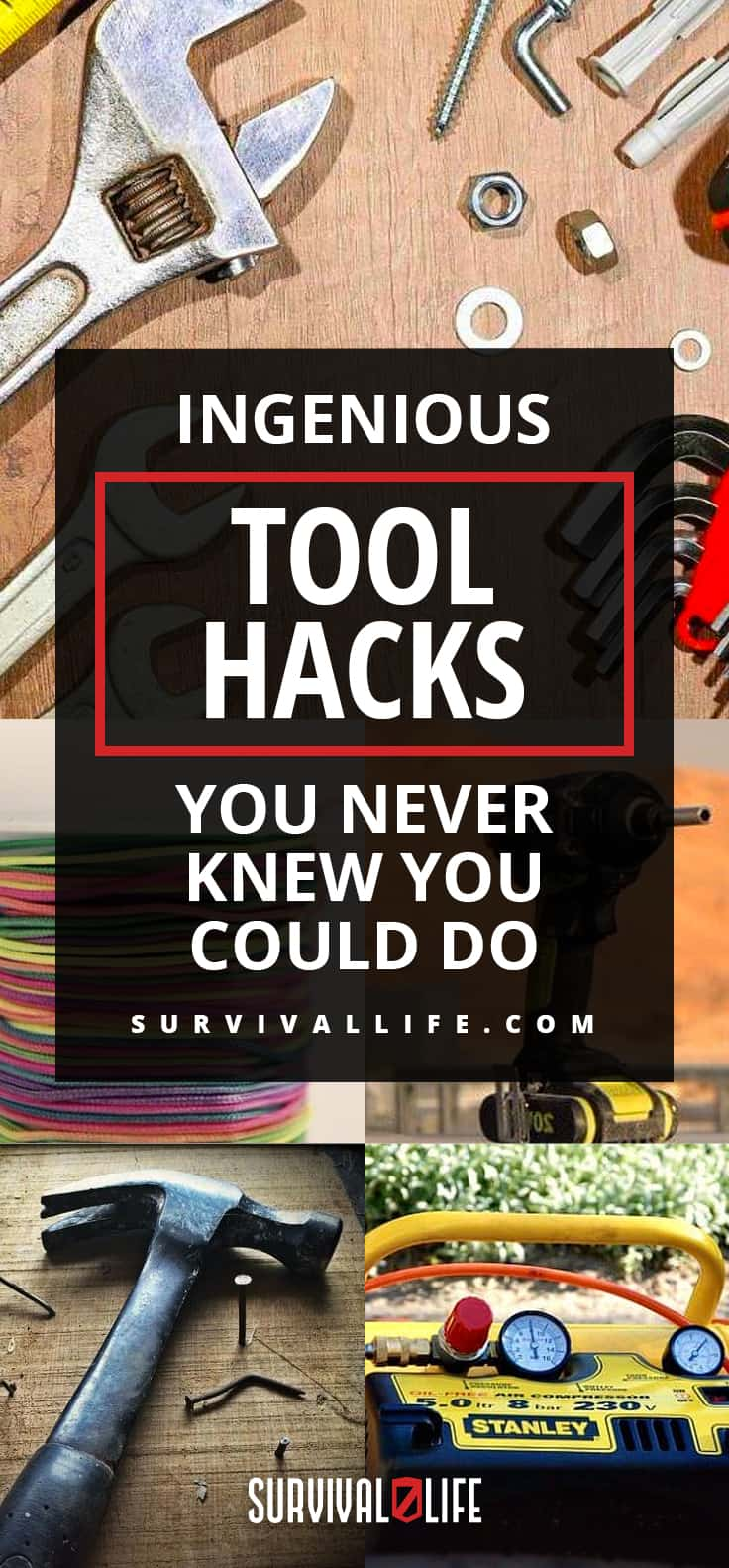 Placard | Rustic Tools | Ingenious Tool Hacks You Never Knew You Could Do | DIY Tool Hacks