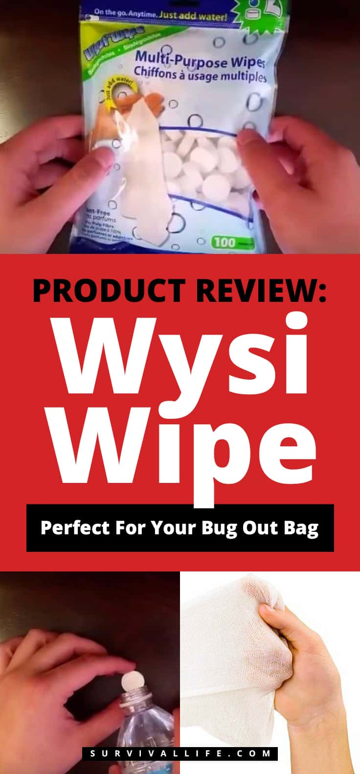 Wysi Wipe   Product Review: Wysi Wipe   Perfect For Your Bug Out Bag
