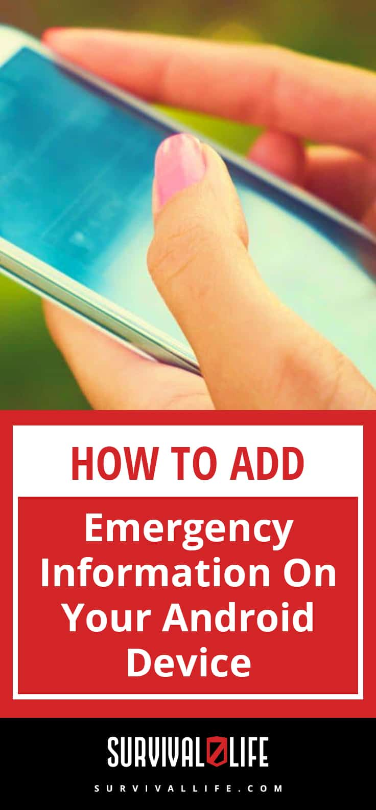 Emergency Information | How To Add Emergency Information On Your Android Device | emergency information android