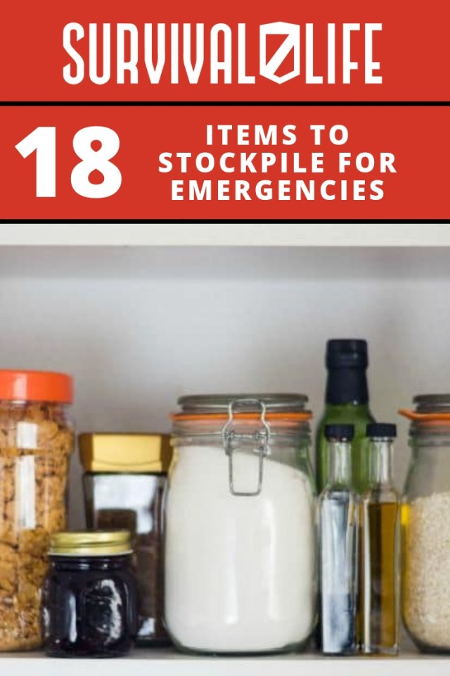 Placard | Items to Stockpile for Emergencies