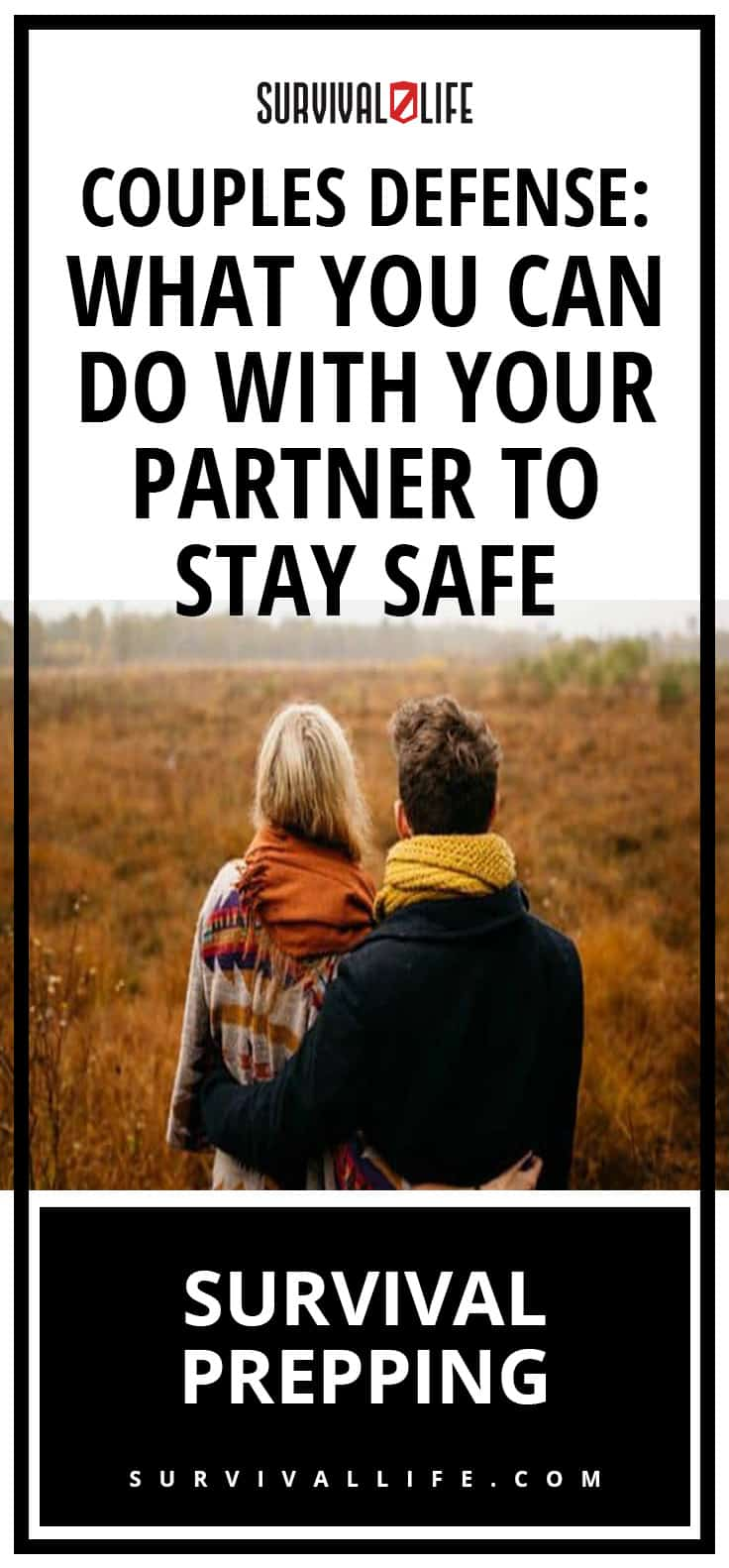 Placard | Couples Defense to stay safe | Couples Defense: What You Can Do With Your Partner To Stay Safe