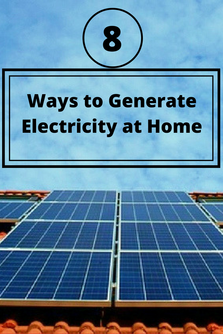 Placard   Generate electricity   Ways To Generate Electricity At Home