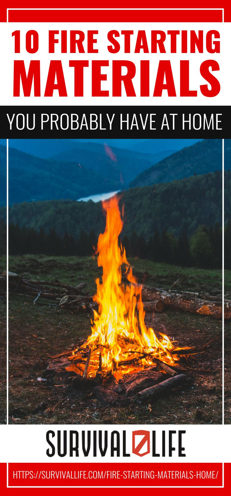 Fire Starting Materials You Probably Have At Home | https://survivallife.com/fire-starting-materials-home/