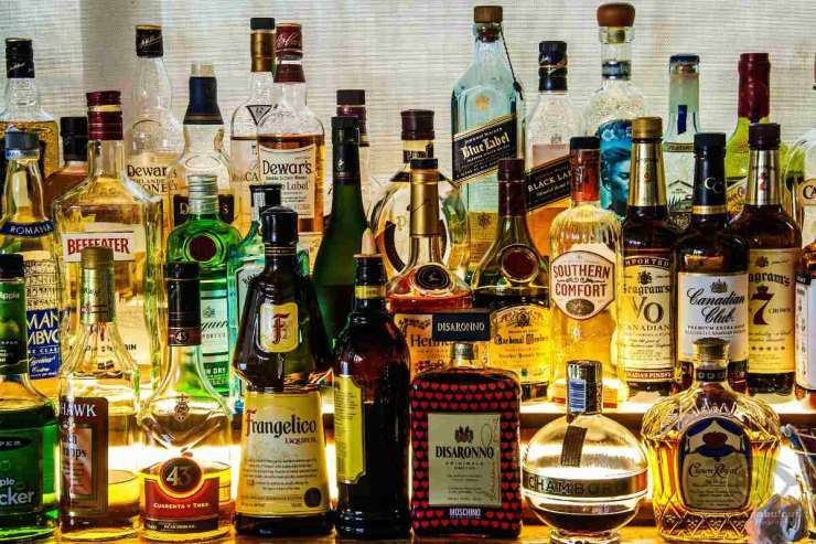 Different kind of liquor | Survival Food Items That Will Outlast The Apocalypse