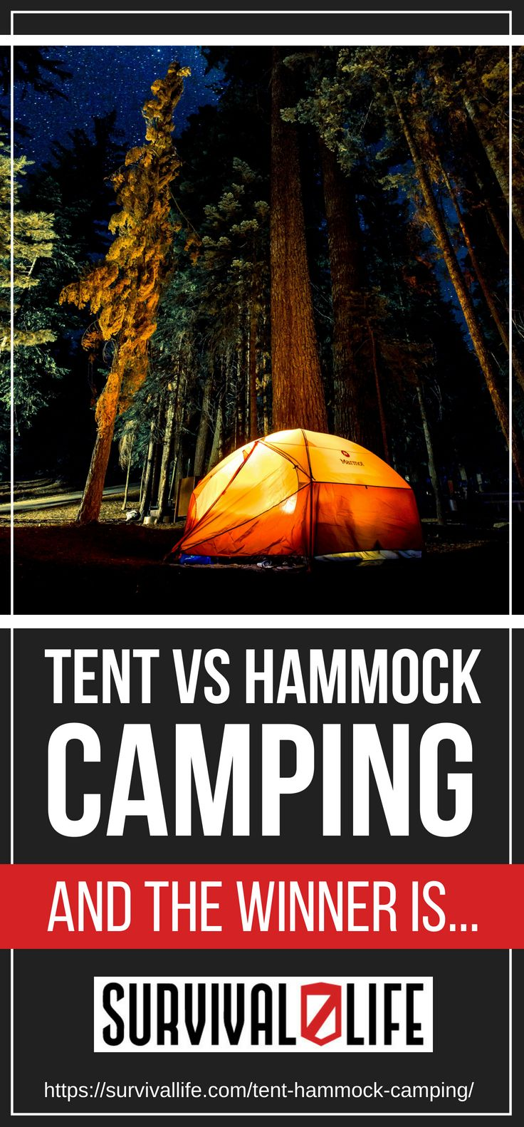 Placard | Tent Or Hammock | Hammock Camping Tips And More! | Survival Life