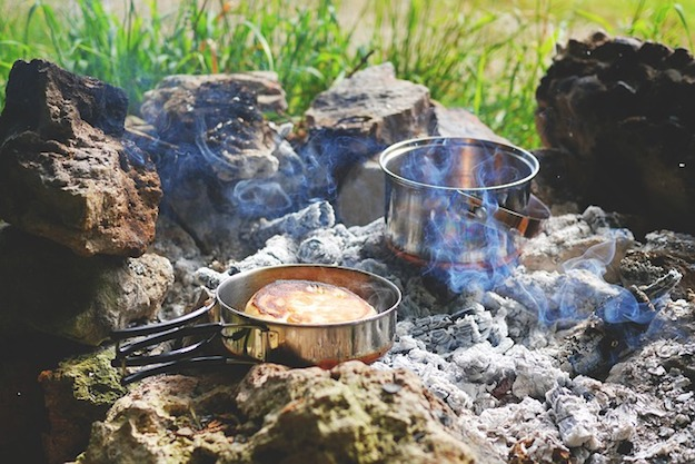 How To Make Civil War Fire Cakes   Civil War Fire Cakes