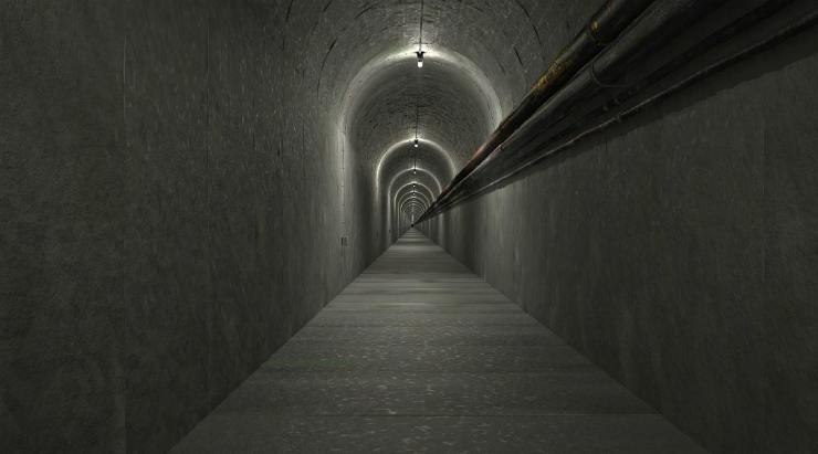 Underground tunnel | The Weakness Of Underground Bunkers