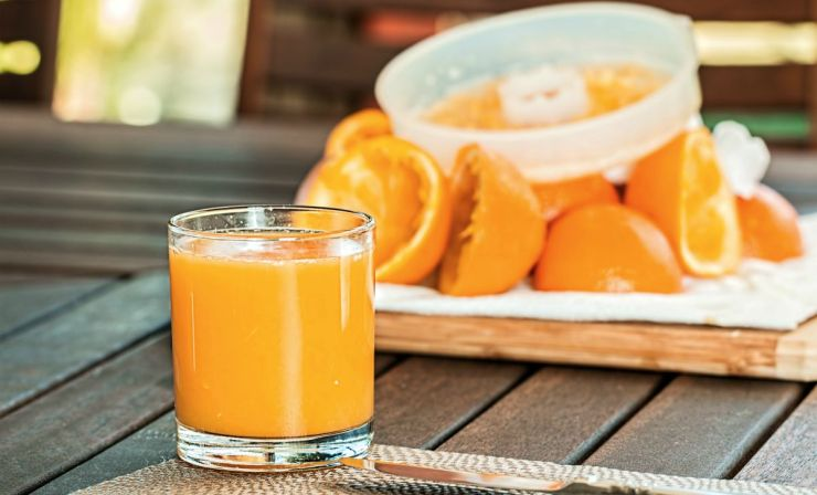 Refreshing fresh orange juice squeezed   Home Remedies For Cold And Flu   Surprisingly Simple Natural Relief