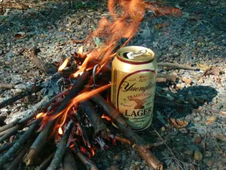Using can to boil water | Hold My Beer And Watch This!
