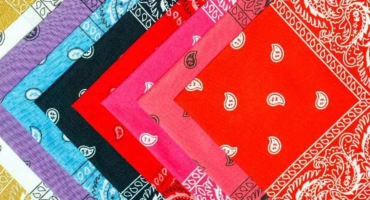 Colorful Bandana Handkerchief | Building Evacuation Kit: High-Rise Survival Tips