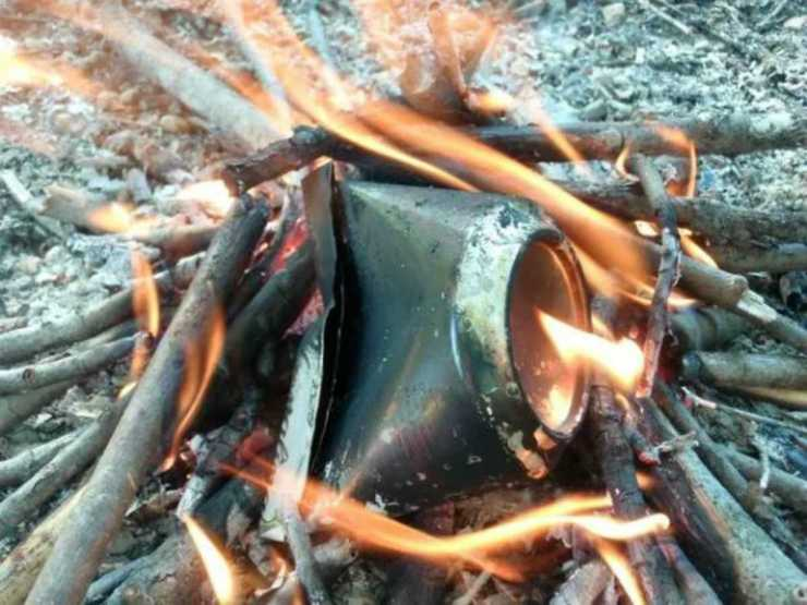 Char cloth for flint and steel fire making | Hold My Beer And Watch This!