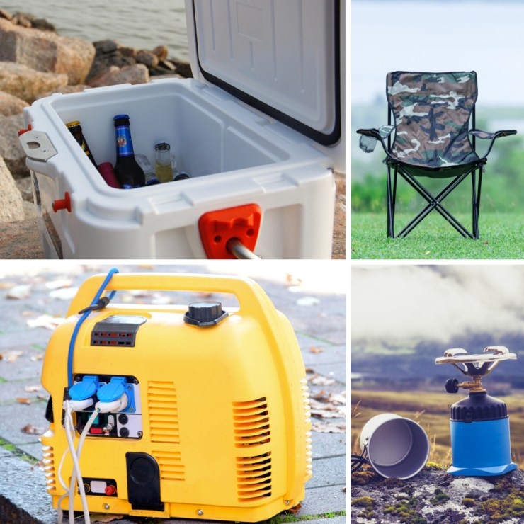Comfort Items | Essential Supplies and Gear for Camping