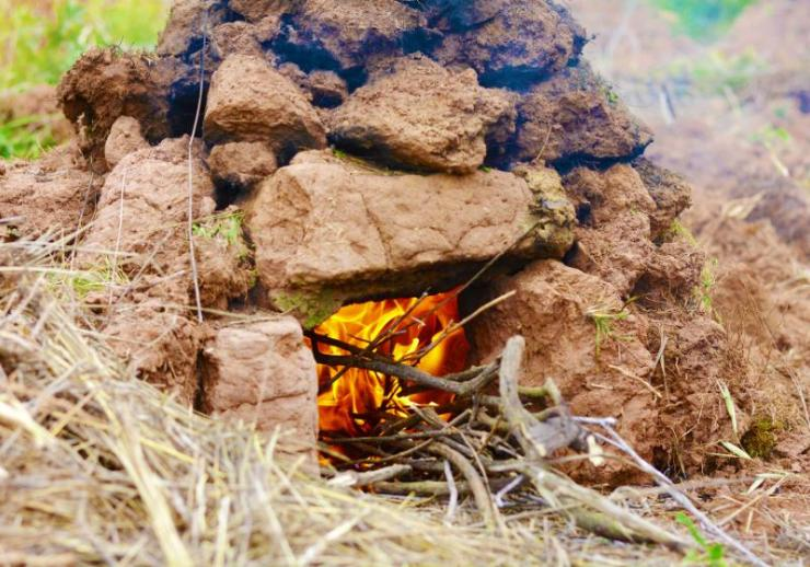 huatia traditional andean earthen oven | cooking methods chart