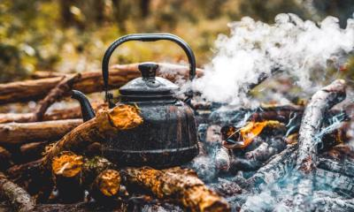 knife water bottle titanium mug near | Primitive Cooking Methods | featured