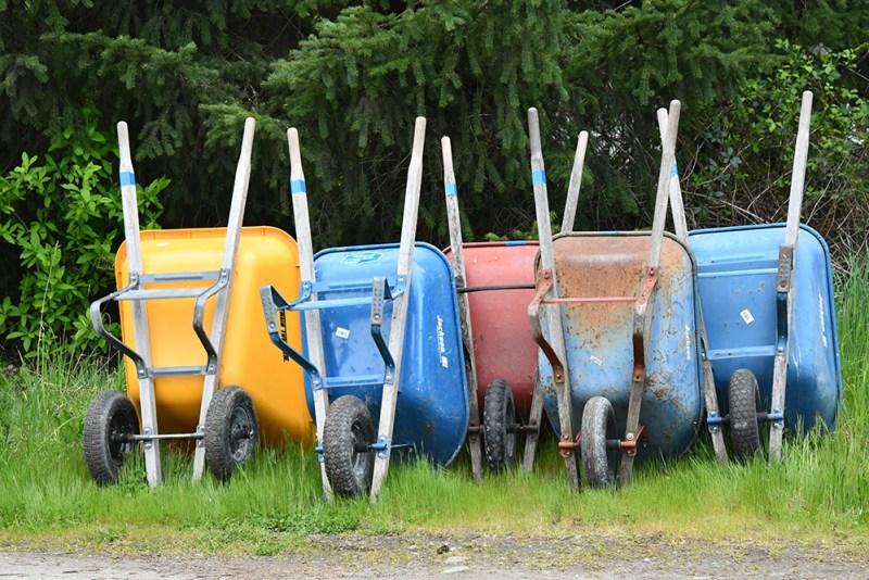 Wheelbarrow | Gardening Hand Tools You Should Have