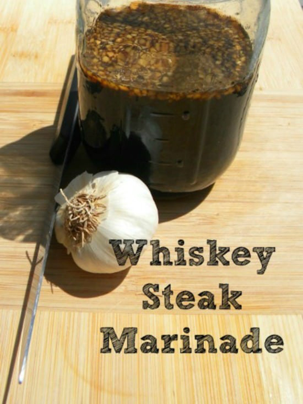 Whiskey Steak Marinade | Homemade Grilling Recipes & Ideas