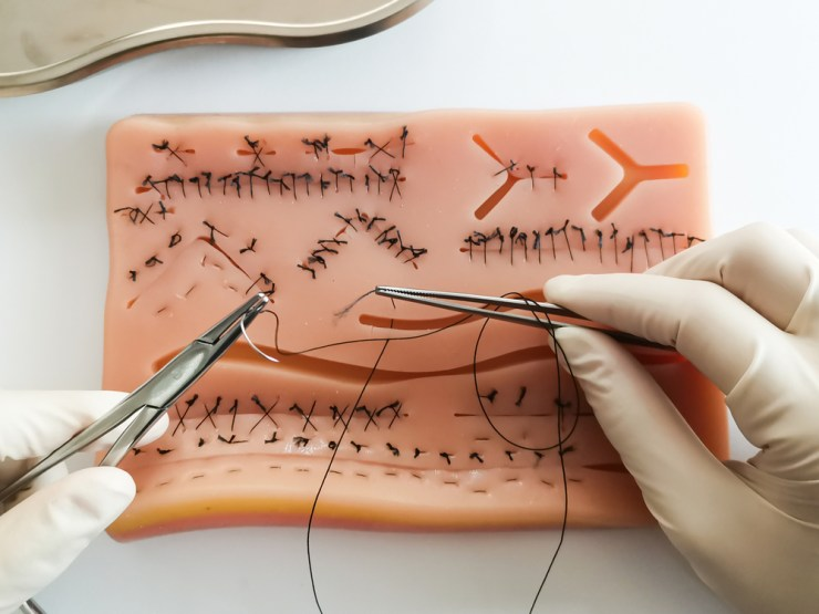 Sutures | Basic First Aid for Cuts and Scrapes