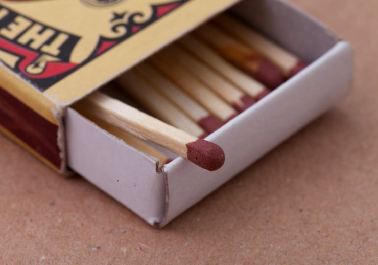 match box carton background macro photography | tampon uses in the wilderness