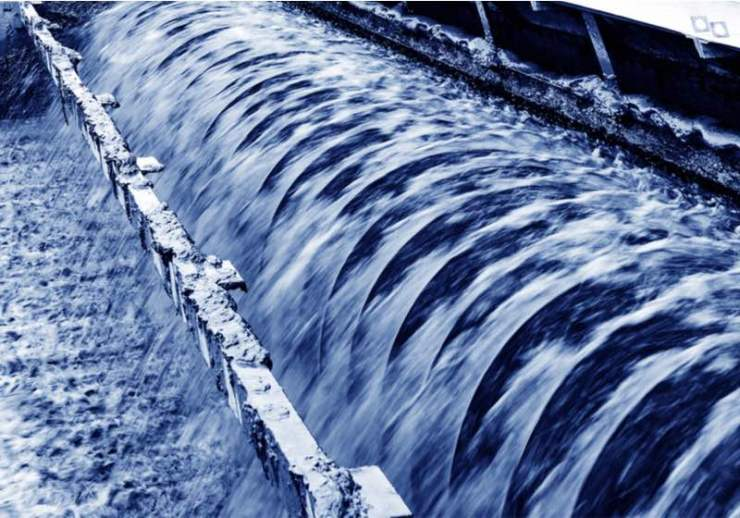 Modern urban wastewater treatment plant | recycled water | non-potable water